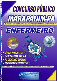 Apostila Impressa Concurso Público Prefeitura de Marapanim - PA 2020 Enfermeiro