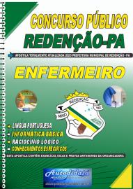 Apostila Impressa Concurso Público Prefeitura de Redenção - PA 2020 Enfermagem