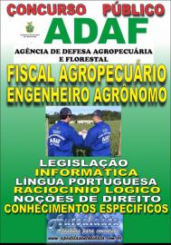 Apostila Digital Concurso ADAF - AM - 2018 - Fiscal Agropecuário Engenheiro Agrônomo