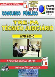 Apostila Digital Concurso TRE - PA 2019 - Técnico Judiciário - Área Administrativa