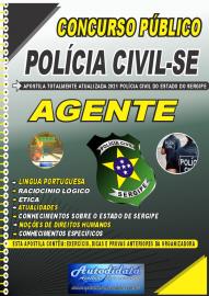 Apostila Impressa Concurso PC-SE 2021 Agente de Polícia