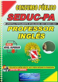 Apostila Digital Concuso Público Seduc-PA 2021 Professor de Inglês