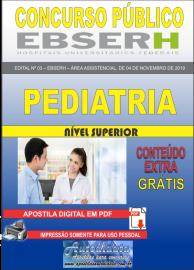 Apostila Digital Concurso EBSERH - 2019 Pediatria