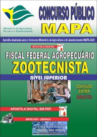 Apostila Digital Concurso Público do MAPA - 2020 Fiscal Federal Agropecuário - Zootecnista