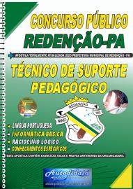 Apostila Impressa Concurso Público Prefeitura de Redenção - PA 2020 Técnico de Suporte Pedagógico