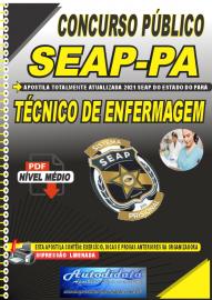 Apostila Digital Concurso SEAP - PA 2021 Técnico de Enfermagem
