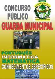Apostila Digital Ipixuna do Pará 2017 - Guarda Municipal