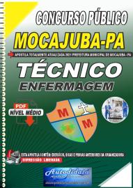 Apostila Digital Concurso Público Prefeitura de Mocajuba - PA 2021 Técnico de Enfermagem