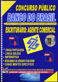 Apostila digital Banco do Brasil 2021 - Escriturário: Agente Comercial