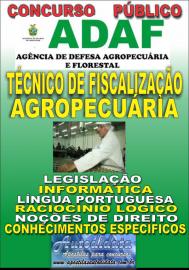 Apostila Digital Concurso ADAF - AM - 2018 - Técnico de Fiscalização Agropecuária