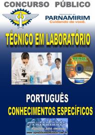 Apostila Impressa Concurso PARNAMIRIM – RN/2019 - Técnico em Laboratório