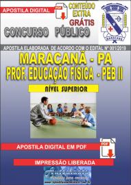 Apostila Digital MARACANÃ/PA 2019 - Professor Anos Finais – Peb II – Educação Física