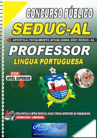 Apostila Digital Concurso SEDUC - AL 2021 Professor de Língua Portuguesa