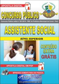 Apostila Digital Concurso Público Prefeitura Municipal de Curuá - Pará 2019 Assistente Social