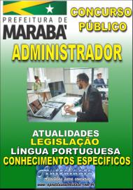 Apostila Impressa Concurso MARABÁ - PA 2018 - Administrador