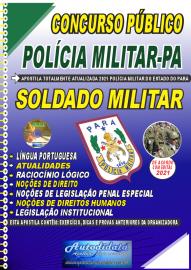 Apostila Impressa Concurso Público Polícia Militar do Pará 2020 Área Soldado Militar