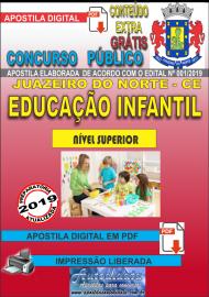 Apostila Digital Concurso JUAZEIRO DO NORTE - CE - 2019 - Professor de educação infantil