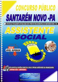 Apostila Digital Concurso Público Prefeitura de Santarém Novo - PA 2021 Assistente Social