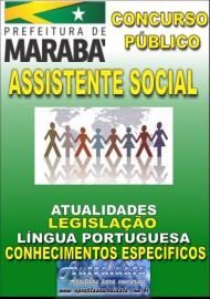 Apostila Digital Concurso MARABÁ - PA 2018 - Assistente Social