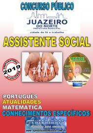 Apostila Impressa Concurso JUAZEIRO DO NORTE - CE - 2019 - Assistente Social