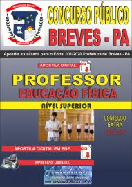 Apostila Digital Concurso Público Prefeitura de Breves - PA 2020 Professor de Educação Física