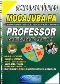 Apostila Impressa Concurso Público Prefeitura de Mocajuba - PA 2021 Professor de Geografia