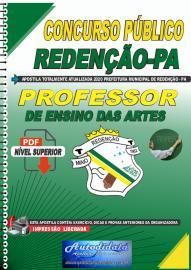 Apostila Digital Concurso Público Prefeitura de Redenção - PA 2020 Professor de Ensino das Artes