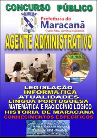 Apostila Impressa Concurso de Maracanã/Pa 2019 – Agente Administrativo