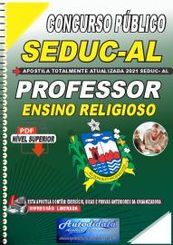 Apostila Digital Concurso SEDUC - AL 2021 Professor de Ensino Religioso