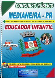 Apostila Digital Concurso Público Prefeitura de Medianeira 2020 Educador Infantil