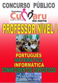 Apostila digital concurso de Cumaru do Norte - PA 2017 - Professor nível I