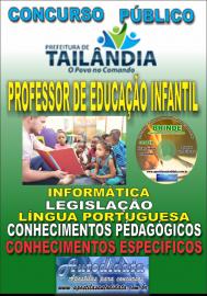 Apostila Impressa TAILÂNDIA/PA 2019 - Professor De Educação Infantil