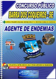Apostila Digital Concurso Público Prefeitura de Barra dos Coqueiros - SE 2020 Agente de Endemias