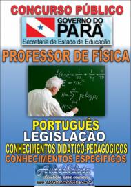 Apostila impressa Concurso SEDUC-PA 2018 - Professor de Física