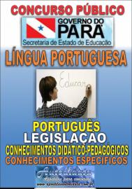 Apostila impressa Concurso SEDUC-PA 2018 - Professor de Português
