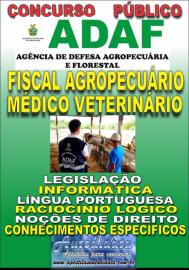 Apostila Impressa Concurso ADAF - AM - 2018 - Fiscal Agropecuário Médico Veterinário