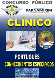 Apostila Impressa Concurso PARNAMIRIM – RN/2019 - Clínico