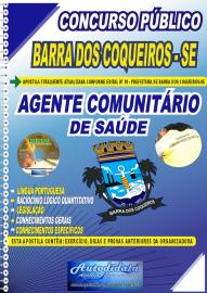 Apostila Impressa Concurso Público Prefeitura de Barra dos Coqueiros - SE 2020 Agente Comunitário de Saúde