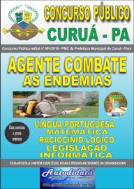 Apostila Impressa Concurso Público Prefeitura Municipal de Curuá - Pará 2019 Agente em Combate às Endemias
