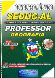 Apostila Digital Concurso SEDUC - AL 2021 Professor de Geografia