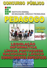 Apostila Impressa Concurso INSTITUTO FEDERAL DE EDUCAÇÃO, CIÊNCIA E TECNOLOGIA DO PARÁ - IFPA - PA - 2019 - Pedagogo