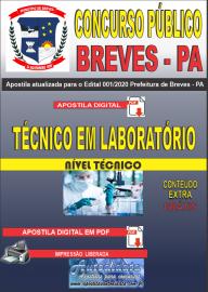Apostila Digital Concurso Público Prefeitura de Breves - PA 2020 Técnico em Laboratório