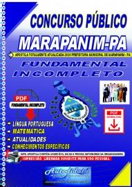 Apostila Digital Concurso Marapanim - PA 2020 Fundamental Incompleto