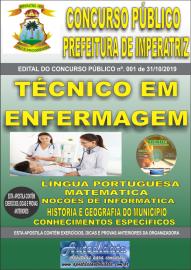Apostila Impressa Concurso - Prefeitura Municipal de Imperatriz - MA 2019 - Técnico em Enfermagem