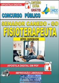 Apostila Digital SENADOR CANEDO/GO 2020 - Analista De Saúde/Fisioterapeuta