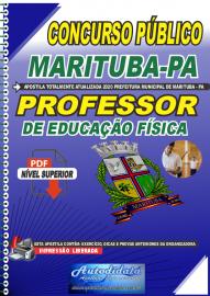 Apostila Digital Concurso Público Prefeitura de Marituba - PA 2020 Professor de Educação Física
