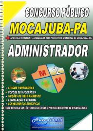 Apostila Impressa Concurso Público Prefeitura de Mocajuba - PA 2021 Administrador