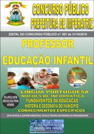 Apostila Impressa Concurso - Prefeitura Municipal de Imperatriz - MA 2019 - Educação Infantil