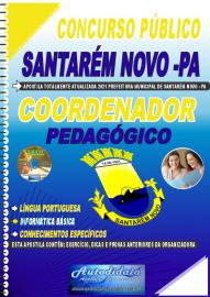 Apostila Impressa Concurso Público Prefeitura de Santarém Novo - PA 2021 Coordenador Pedagógico