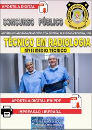 Apostila Digital Concurso CENTRO DE PERÍCIAS CIENTÍFICAS RENATO CHAVES - CPC RC - PA 2019 - Auxiliar Técnico De Perícia - Formação: Técnico Em Radiologia: